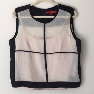 Narcisco Rodriguez design nation large blouse